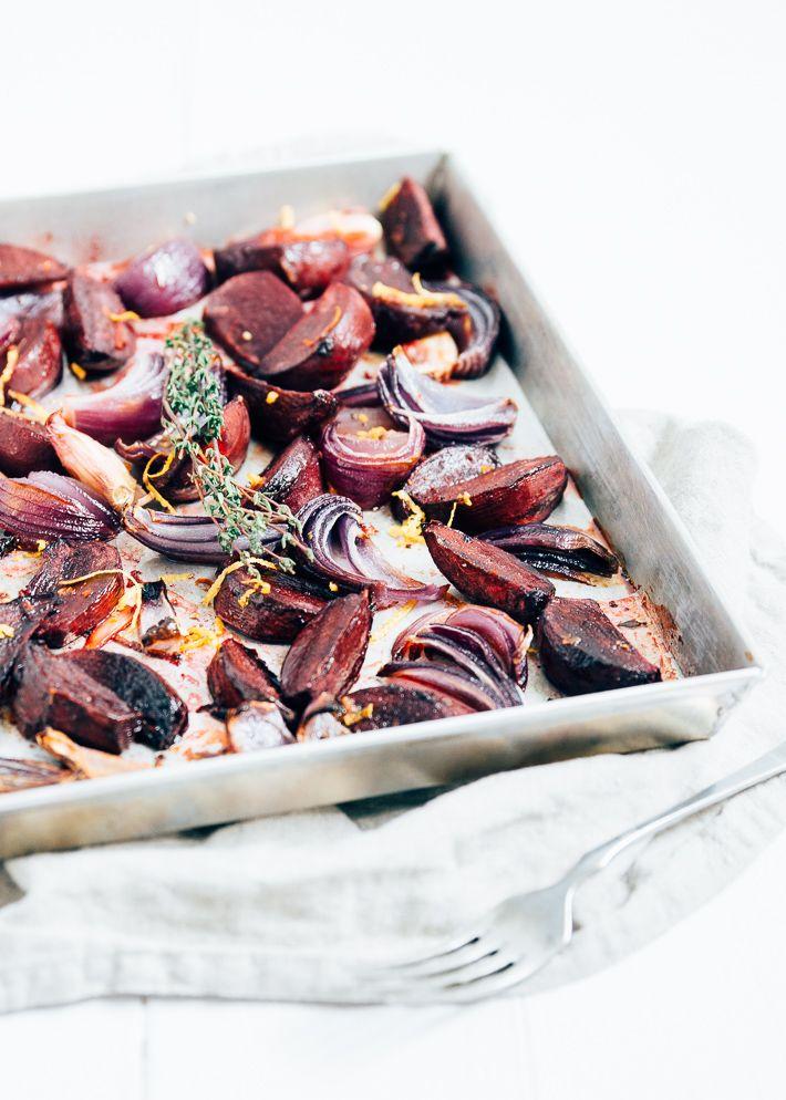 Geroosterde bietjes met balsamico - Uit Pauline's Keuken
