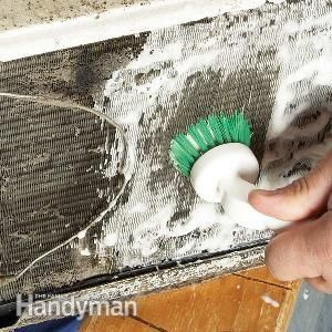 How to Clean a Room Air Conditioner http://www.familyhandyman.com/heating-cooling/air-conditioner-repair/how-to-clean-a-room-air-conditioner/view-all#step1