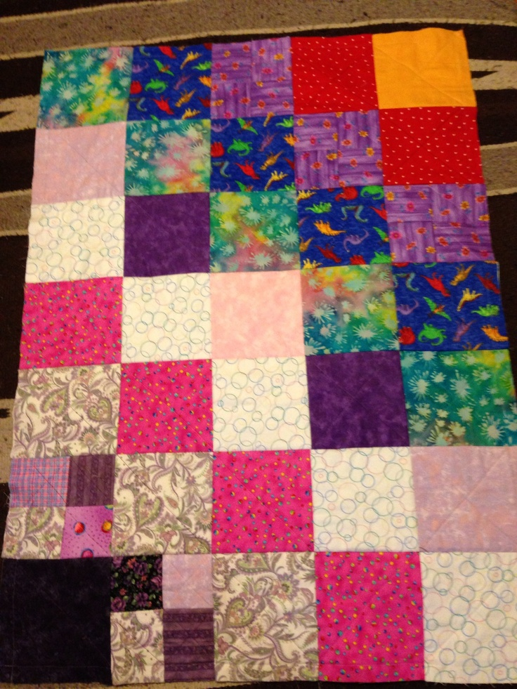 Fiona S Rag Quilt Using All Scrap Blocks My Quilts