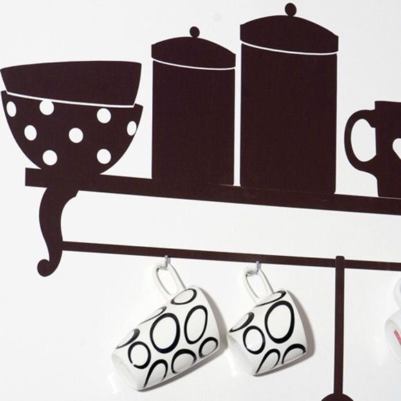 53 Best Images About Funky Kitchen Wall Stickers On Pinterest