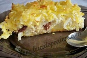 Budinca de macaroane cu branza de vaci - Culinar.ro