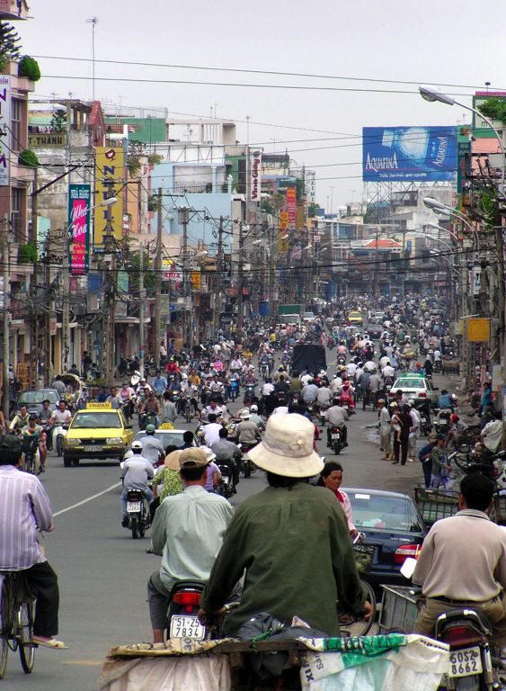 Saigon (Ho Chi Minh City), Vietnam - Fortunate to have been back to my homeland a few times!! Can't wait to go again and see how much it's changed.