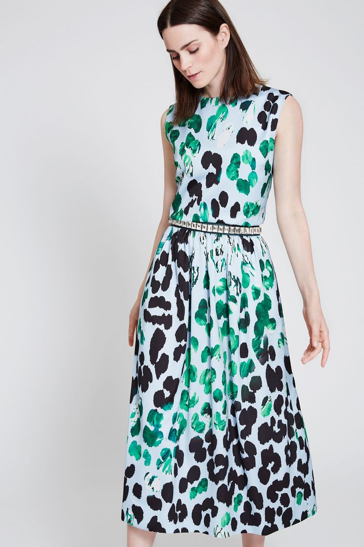 mix and match your perfect summer dress - wedding - lovely colours - leo print - dress blue green and black