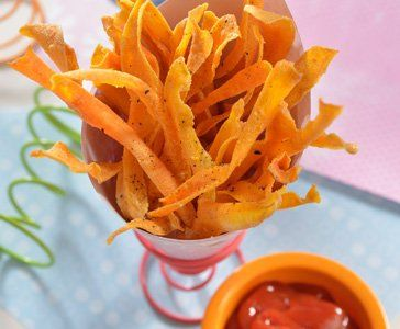 Zanahorias fritas