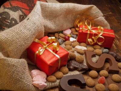Sinterklaas sweets and presents