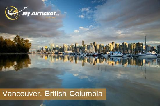 Vancouver, British Columbia in CANADA.. #travel #flights #airfare #airline #Dallas #India #airtickets #Newyork#international #myairticket #Cheapest  http://www.myairticket.com/myairticket/india.php
