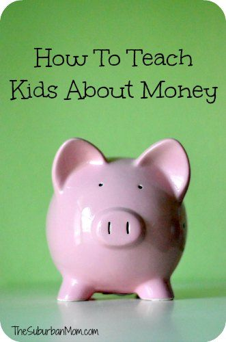 How To Teach #Kids About Money (And When To Start). #Budget #Finance