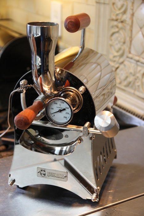 Huky 500 coffee roaster