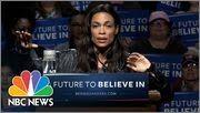 Rosario Dawson References Monica Lewinsky In Bernie Sanders Warm-Up   NB...
