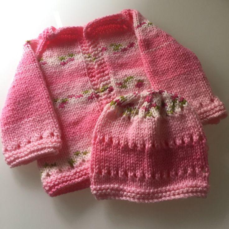 Sweet Baby Cardigan using Cicibebe 595-01