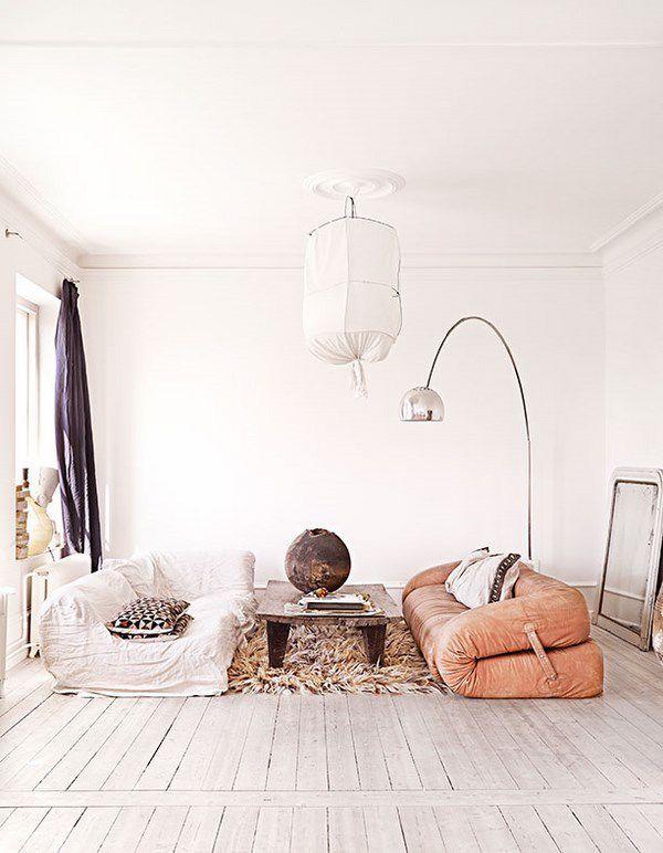 Arredamento svedese - La casa dell'arredatrice d'interni Marie Olsson Nylander in Svezia