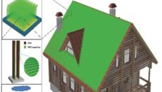 Roofs Covered With Plastic Grass Could Harness Wind Energy