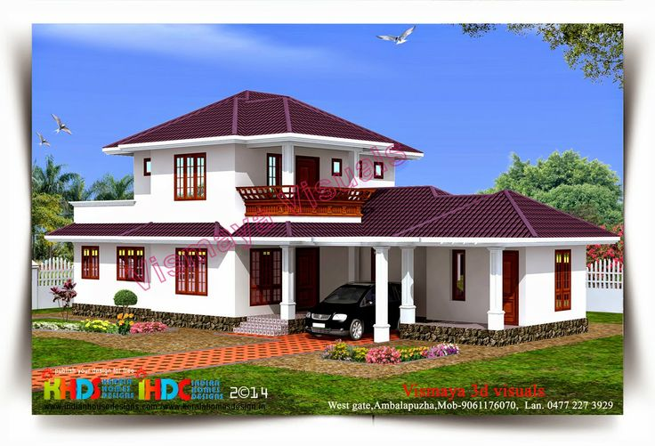 Kerala beautiful house objective on attractive house design keralahousedesigns - Kerala beautiful house ...