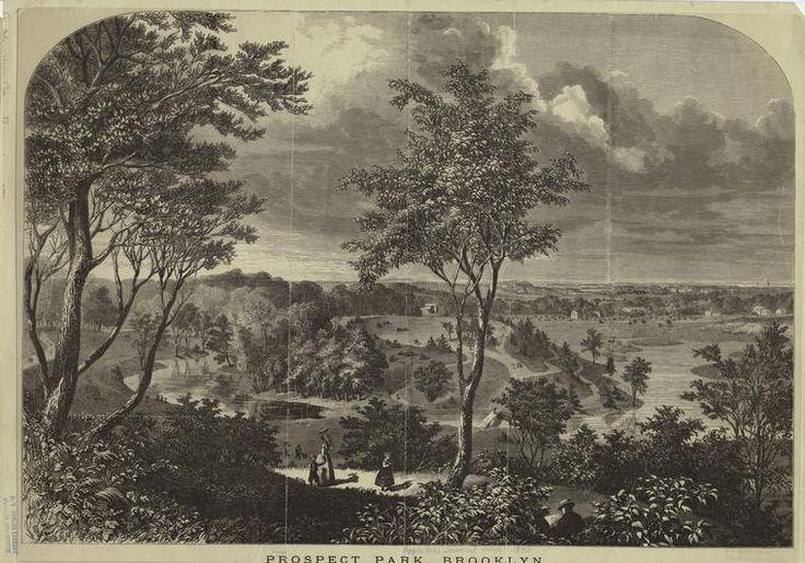 Prospect Park-Brooklyn-1870