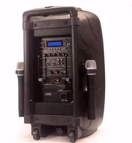 parlante recargable 12 portatil bluetooh, cabina amplificada