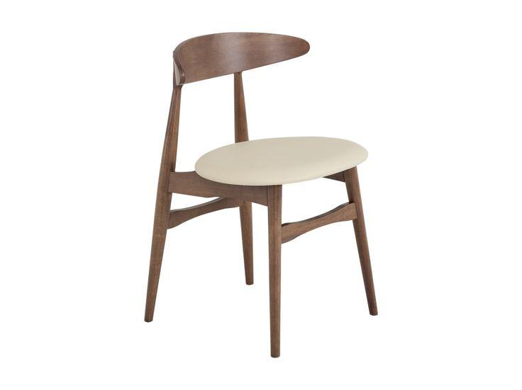 JILL Stol Brun/Offwhite i gruppen Innendørs / Stoler / Matstoler hos Furniturebox (100-83-97006)