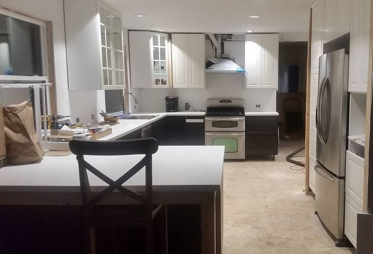 "21 Likes, 3 Comments - Jessica Anderson (@jessanderson821) on Instagram: ""Sorry for the overload of kitchen photos.  I am making a book of our reno."""