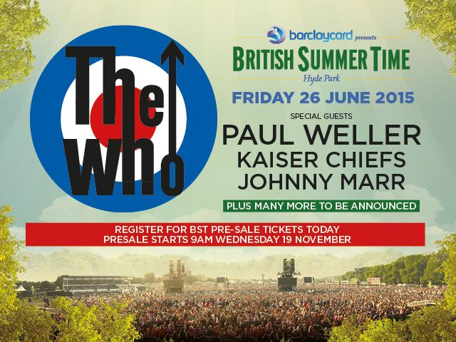 Barclaycard British Summer Time Hyde Park | BST Hyde Park