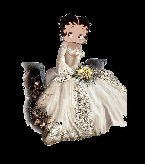 Betty Boop...... wedding date!