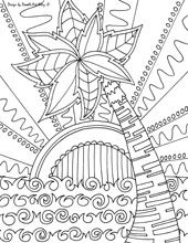 doodle art beach coloring pages adultcp beachy