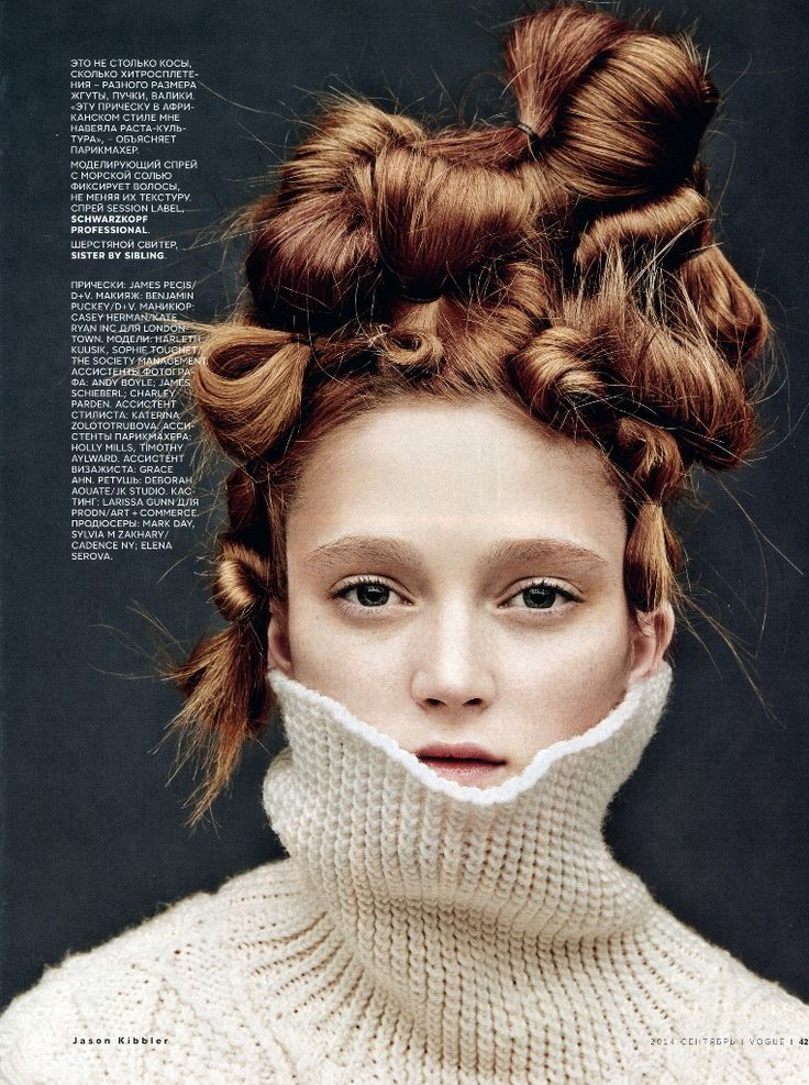 Vogue Russia September 2014 | Harleth Kuusik & Sophie Touchet by Jason Kibbler