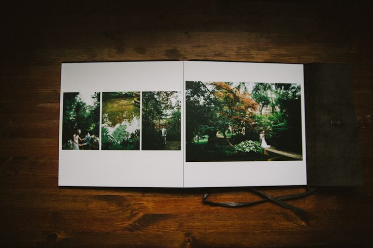 Leather Bound Album by Woodland Albums // Photographed by Jessica Bossé Photography