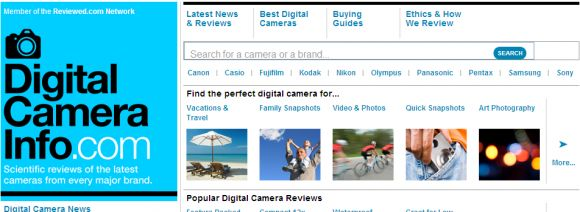 Best Camera Review Sites ..