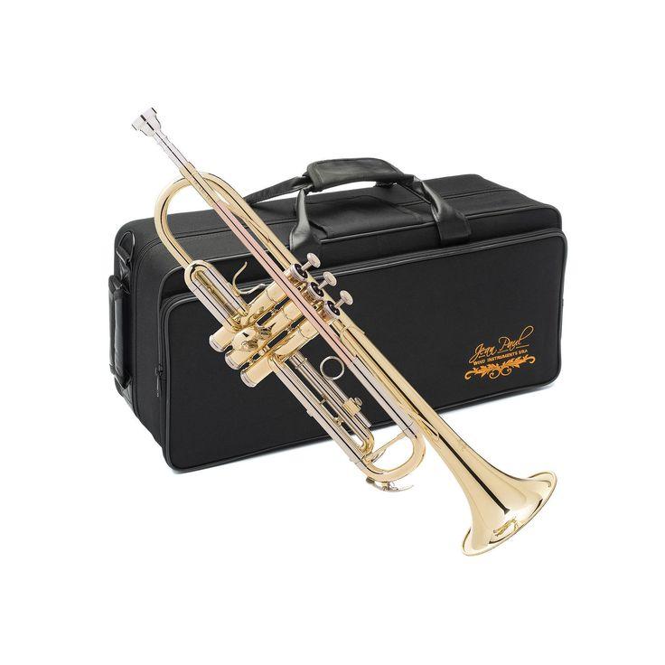 Jean Paul Student Intermediate Trumpet, Case & Maintenance Kit, Multicolor