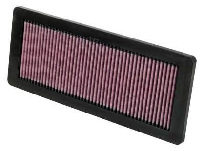 K&N 2013-2016 Mini Cooper Paceman Countryman Roadster Coupe/ 2007-2015 Cooper S John Cooper Works Clubman Base Panel Replacement Engine Air Filter