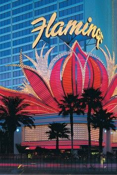 An iconic Las Vegas landmark, the Flamingo Hotel & Casino.