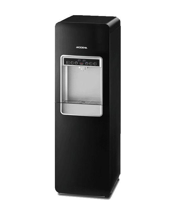 MODENA Water Dispenser DD 68 L, when elegance meets function.  #homeappliances #modenaindonesia #waterdispenser #style #stylish #elegant #black #appliances #thingsyouneedathome