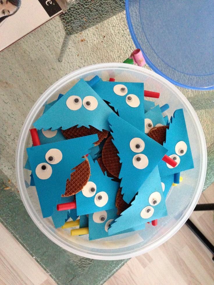 Cookie monster birthday treat