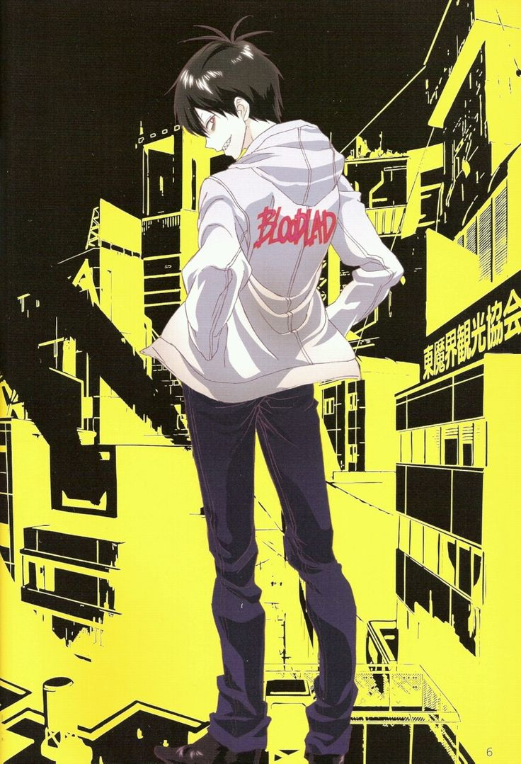 Anime Scan of the Week I've actually come around to watching Bloodlad and its not bad. it took a while for the story to get interesting but there was plenty of comedy to keep me entertained. defs one of the better recent anime series that came out recently