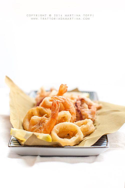 frittura di calamari e code di gambero