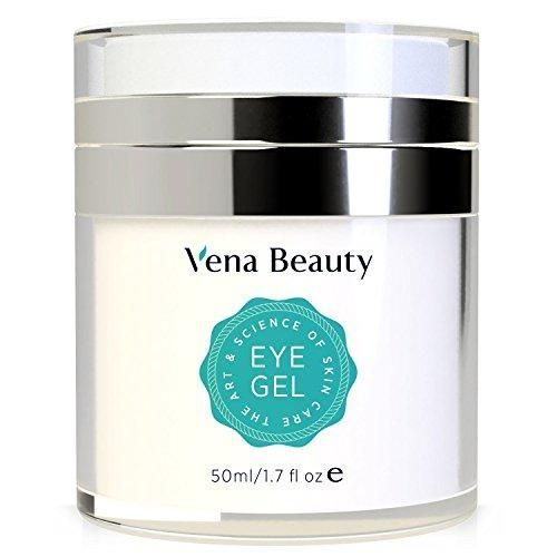 Eye Gel for Dark Circles, Puffiness, Wrinkles and Bags,Fine Lines. - The Most Effective Anti-Aging Eye Gel for Under and Around Eyes - 1.7 fl oz Vena Beauty