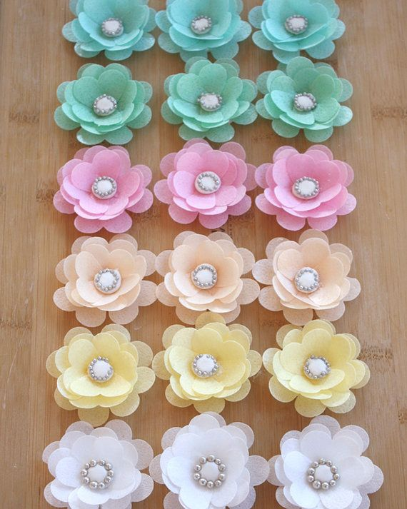 18 best wafer paper images on pinterest sugar flowers wafer paper 6 edible wafer paper flower perfect for weddingsbirthdays cakes cookies sweets mightylinksfo