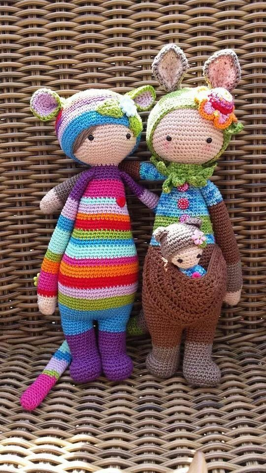 Free variations on Lalylala dolls stuffed things ...