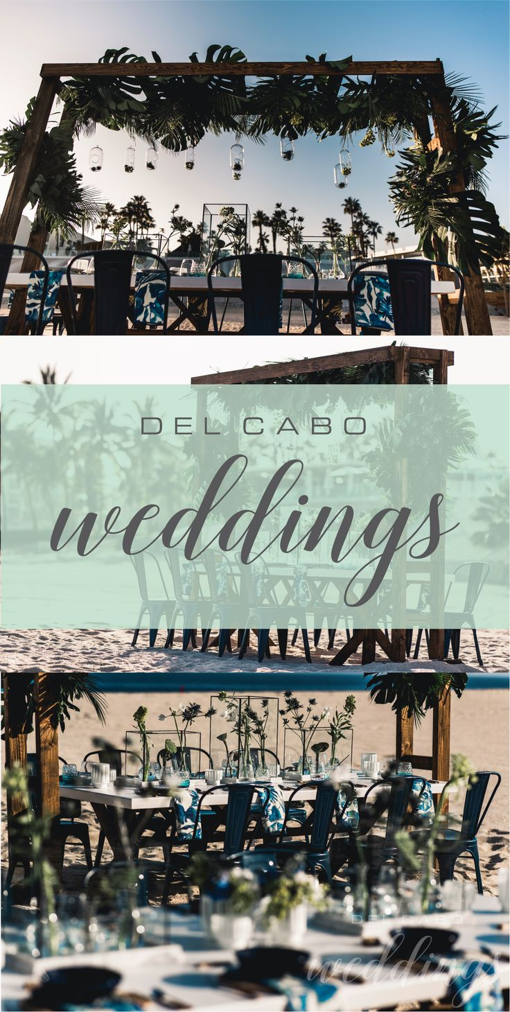 Get your organic wedding ideas from our board! Take a look at our beautiful décor and inspire yourself! Del Cabo Weddings will make your dream wedding come true! Click on the image and visit our website!