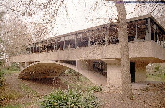 El agua en la Arquitectura, Amancio Williams ...