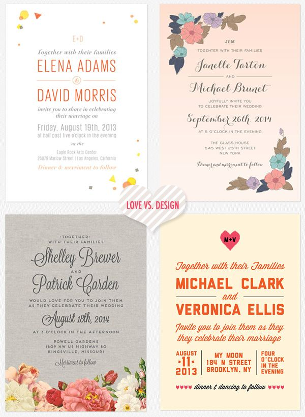 hip-modern-wedding-invitations: Announced Tomo, Color, Ruffleds Post, Weddings Entertaining, Romantic Weddings, Comment, Fave Design, Hip Modern Wedding Invitations, Invites Wedding Ideas