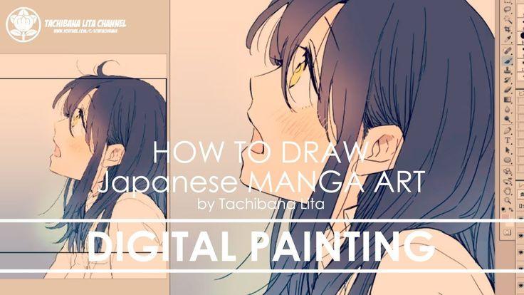 ✔ St.2 Digital painting   How to draw Manga Art 2017.12.02