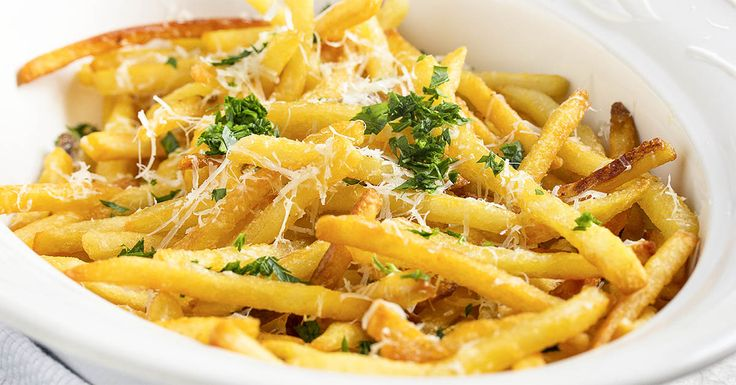 Quick and easy truffle fries. Make them tonight!