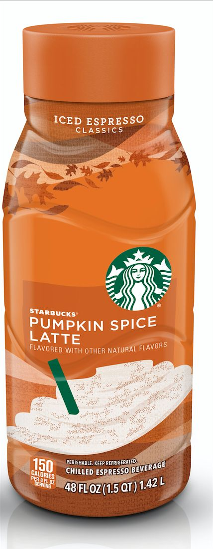 You don't have to wait in line at Starbucks to get your PSL fix—and you won't be limited to a tall, grande or venti. By the end of September, you'll be able to grab a 48-ounce bottle of Pumpkin Spice Latte in the refrigerated drinks section of your grocery store. The suggested retail price is $5—roughly the cost of a 20-ounce drink in stores. If you're more of a hot PSL person, you can buy Starbucks' Via Pumpkin Spice Latte (think: just-add-water packets) for $7 per 5-count pack…