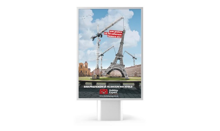 Tourism Agency Promotion Proposal - We could bring Paris to you, but we prefer to take you to Paris.