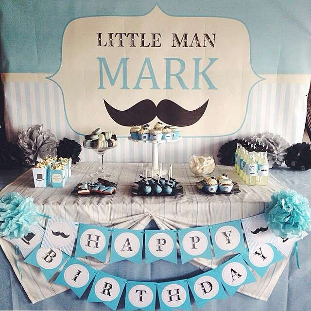 17 best ideas about men birthday parties on pinterest little man shower little man and little - Birthday party theme for men ...