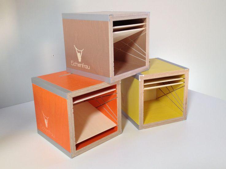 Iphone klangboxen aus birke multiplex eichenfrau m bel for Garderobe birke