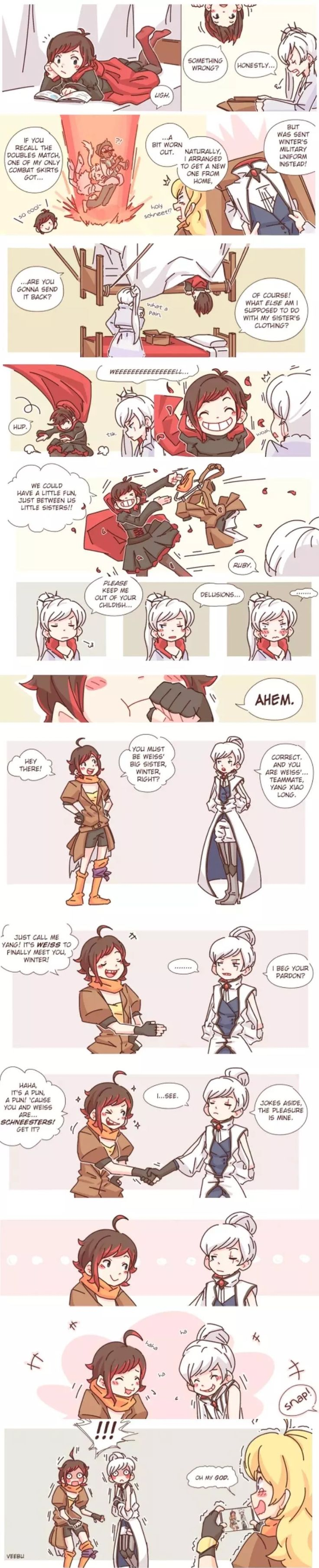 RWBY - Sisters become older sisters.