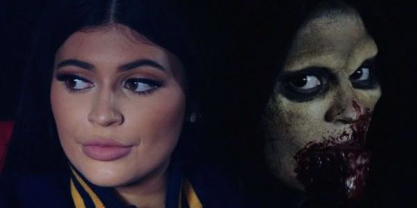 """Kylie Jenner turns herself into a Zombie for Tyga's """"Dope'd Up"""" music video and the results are insane"""