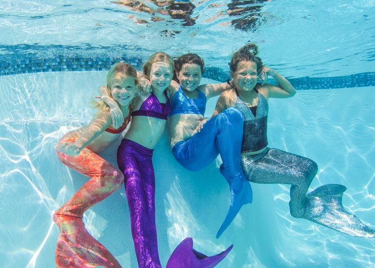 Give a gift that will be remembered.     Swimmable Mermaid Tails and Shark Fins    http://www.finfunmermaid.com