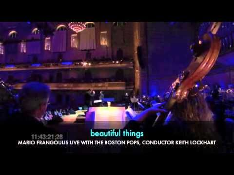 MARIO FRANGOULIS BEAUTIFUL THINGS LIVE with STEPHAN MOCCIO